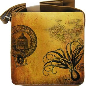 Octopus shoulder bag