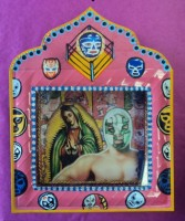Tin nicho - El Santo Day of the Dead