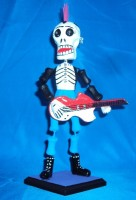 Mega Punk Rock Star Day of the Dead