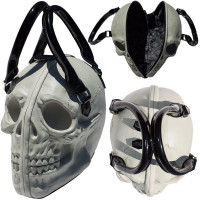 skull collection bag. glow in the dark