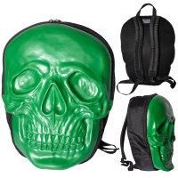 Gian skull backpack alien green