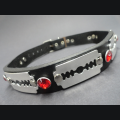 Razor blade and gem choker