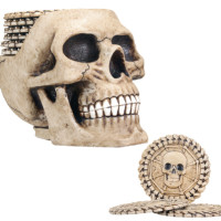 Skull Coasters - Includes 6 Coasters