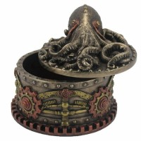 Steampunk Octopus Trinket Box