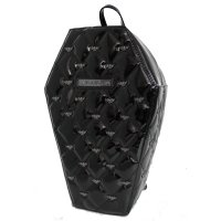 Coffin Backpack with Bats
