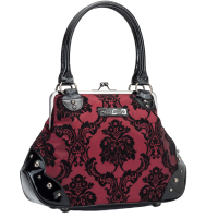 Kisslock Damask Red